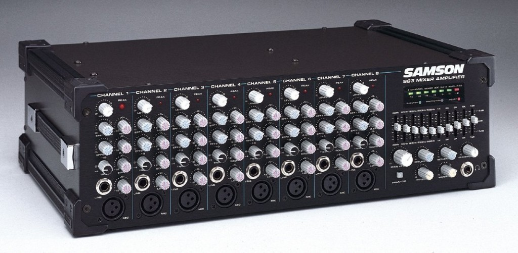 Samson S83 Powered Mixer