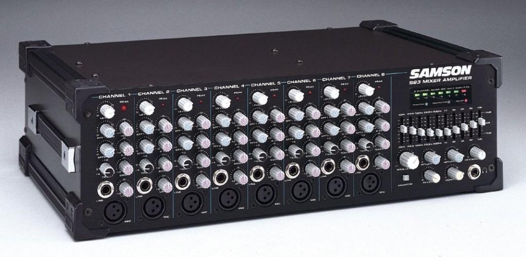 Samson S83 Powered Mixer
